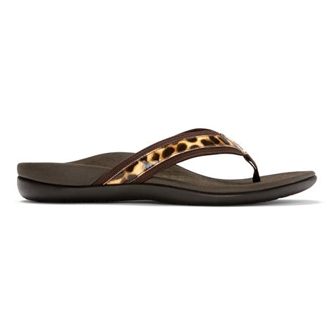 vionic tide ii s leather orthaheel sandals