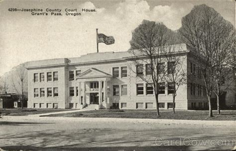 Josephine County Court Search Josephine County Court House Grants Pass Or