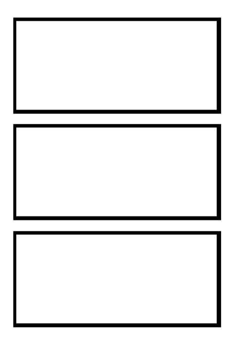 3 Box Comic Strip Template Clipart Best Clipart Best Comic Frames Template
