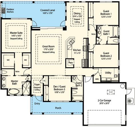 smart floor plans 3 way energy smart house plan 33108zr architectural