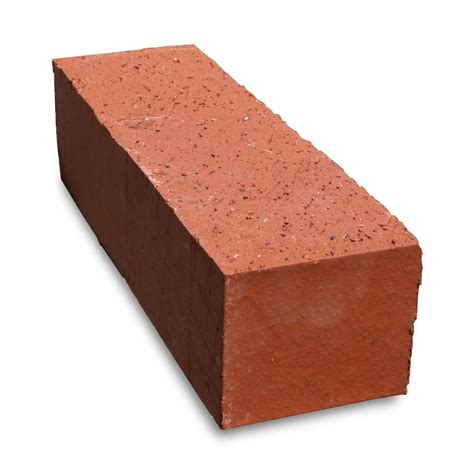 home depot decorative bricks pacific clay 11 5 in x 3 5 in x 3 in jumbo sunset red
