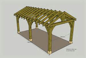 How To Build A Carport How To Build Wood Frame Carport Plans Pdf Plans