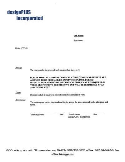 simple business contract template best photos of basic service contract template