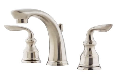 discount bathroom faucets brushed nickel pfister f049cb0k avalon 8 inch widespread lavatory faucet