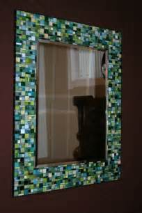 how to frame a bathroom mirror with mosaic tiles pin by shan on diy stuff ideas