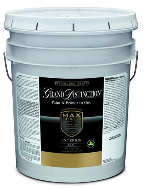 5 gallon exterior paint prices pittsburgh grand distinction midtone exterior paint