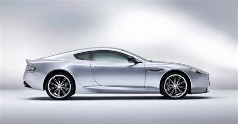 Silver Aston Martin by 2013 Skyfall Silver Aston Martin Db9 Coupe Side