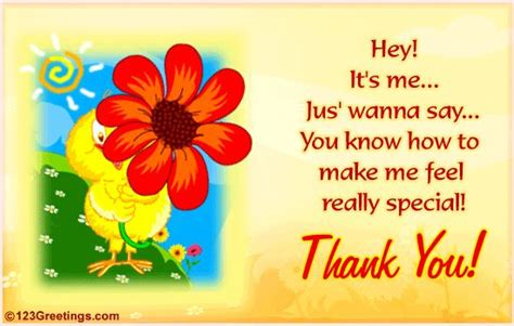 I Can Say My 123 a special thanks free thank you ecards greeting cards