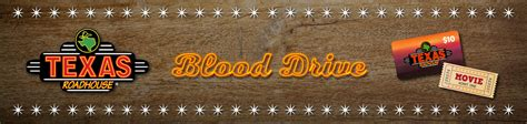 Texas Roadhouse Gift Card Target - texas roadhouse movie and a meal blood drive