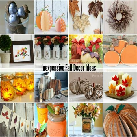 cheap fall decor ideas 1000 images about for the backyard on
