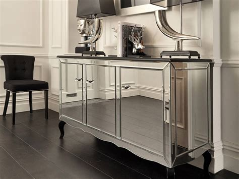 white mirrored buffet cabinet 20 best ideas of mirrored sideboard