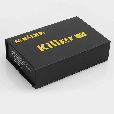 box killer authentic aleader box killer 80w resin 7ml tc squonk