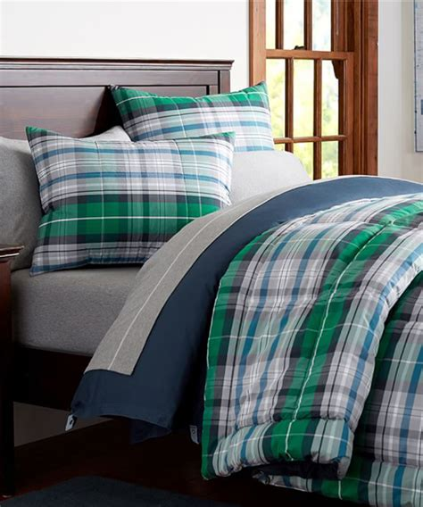 boys bedding boys plaid bedding