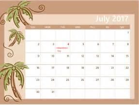 Printable July 2017 Calendar July 2017 Calendar Printable