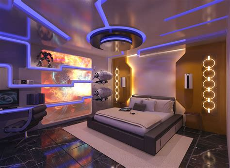 spaceship bedroom futuristic bedroom by dannvanders on deviantart