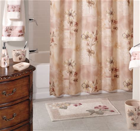 croscill romance shower curtain romance rose bath accessories are in altmeyer s