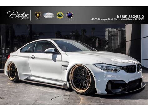 bmw m4 widebody 2015 bmw m4 vorsteiner widebody kit for sale gc 21836