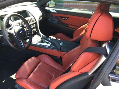 Bmw Sakhir Orange Interior by 2014 Bmw M6 Coupe Alpine White Exterior Sakhir Orange