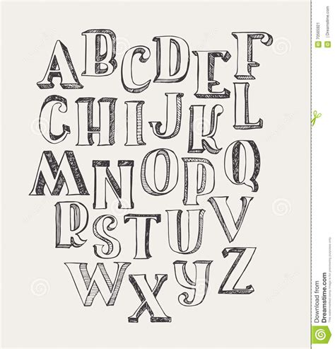 hand drawn lettering tutorial illustrator hand drawn abc letters on white background hand drawn