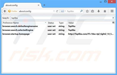 Search Engine Url Address How To Get Rid Of Taplika Browser Hijacker Virus Removal Guide
