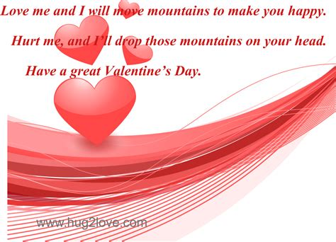 valentines cards for him happy valentine s day quotes for him with images hug2love