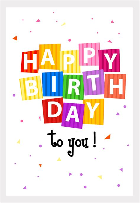 printable birthday card decorations great website no more buying greeting cards personalize