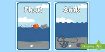 Objects That Sink And Float by Floating And Sinking Sorting Sheets Floating Sinking