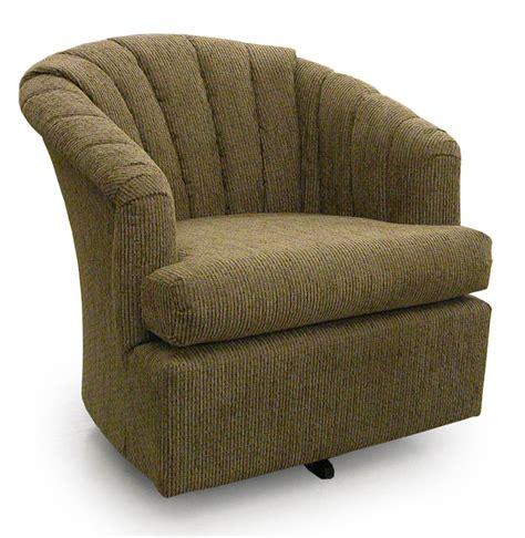barrel armchair best home furnishings chairs swivel barrel 2558 elaine