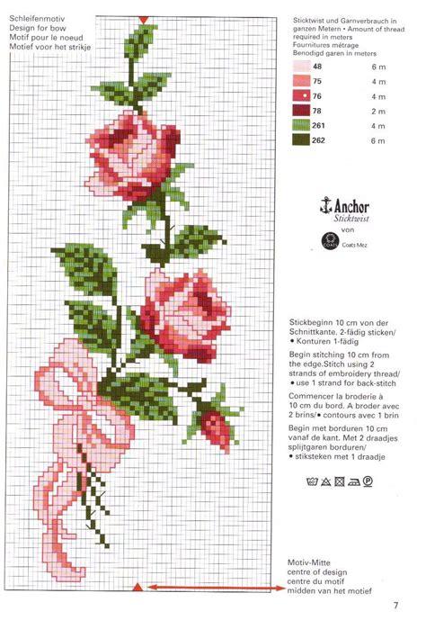 imagenes flores en punto de cruz imagenes de flores en punto de cruz