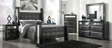 shore 4pc bedroom set w king panel bed bedrooms