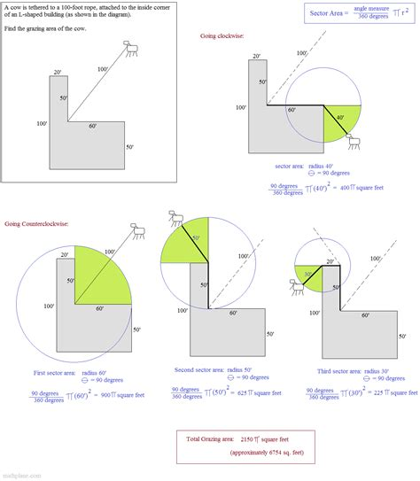 44 arc length and sector area worksheet arc length
