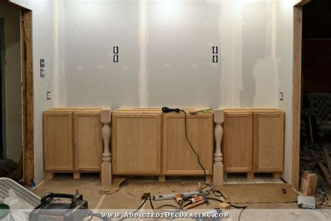 installation kitchen cabinets wall of cabinets installed plus how to install