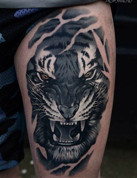 bengal tiger tattoo bengal tiger tattoos artist magazine