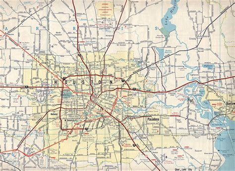 Road Map Google Search Geography Maps Houston Map