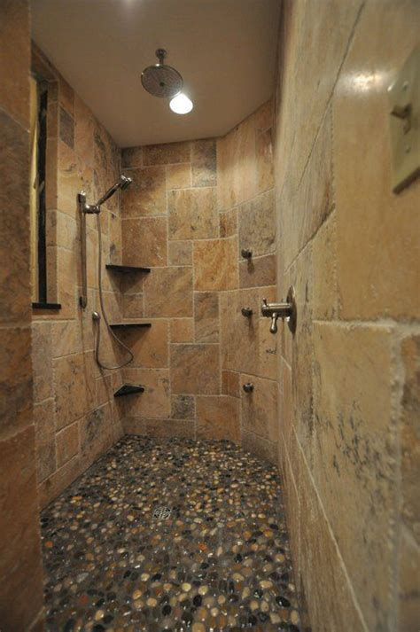 stone bathroom showers 20 stone tile bathroom design ideas messagenote