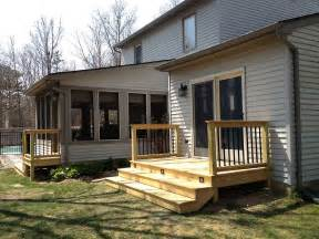 back deck porch wood amp brick on pinterest deck railings small decks and brick steps