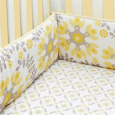 yellow and gray baby bedding yellow and grey bedding baby nursery child s room