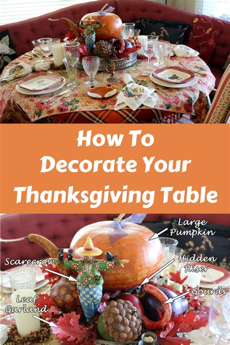 how to decorate a thanksgiving table on a budget how to decorate your thanksgiving table