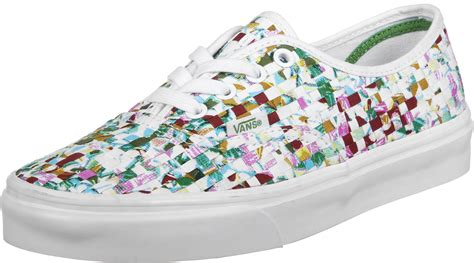 colored vans vans authentic dx shoes multi color green