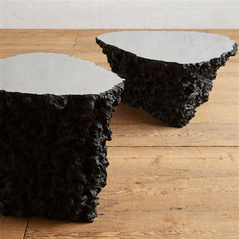 Lava Rock Pit Lava Coffee Table The Green