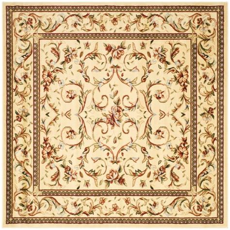 8 Foot Square Area Rug Safavieh Lyndhurst Ivory Ivory 8 Ft X 8 Ft Square Area