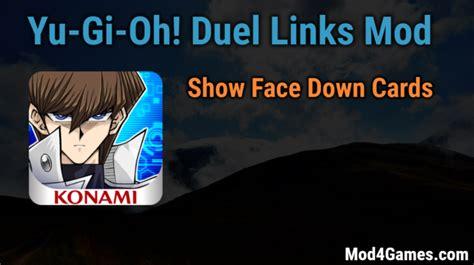 x mod game la gi yu gi oh duel links mod show face down cards