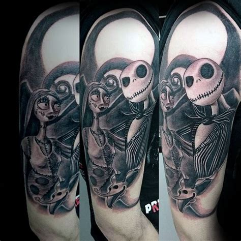 jack skellington tattoo 100 nightmare before tattoos for design ideas