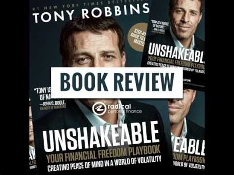 Unshakeable Your Financial Freedom Playbook 439 book review unshakeable your financial freedom