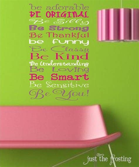 Wall Stickers Quotes For Bedrooms be you vinyl lettering vinyl ideas pinterest room