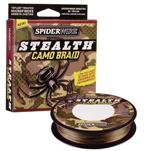 Spiderwire Stealth Code Braid 125yd 20lb Dia025mm 50lb 125yd spiderwire stealth camo braid fishing line ss50c 125