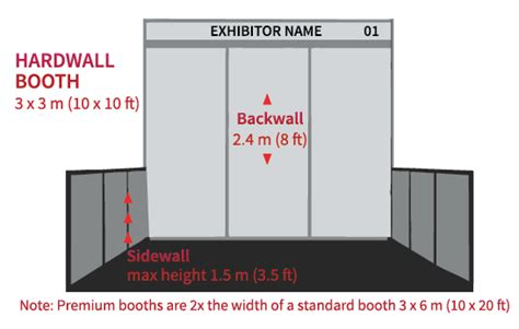 photo booth layout size sponsorship opportunities meetings