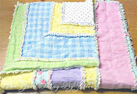 diy easy quilts diy flannel baby rag quilt