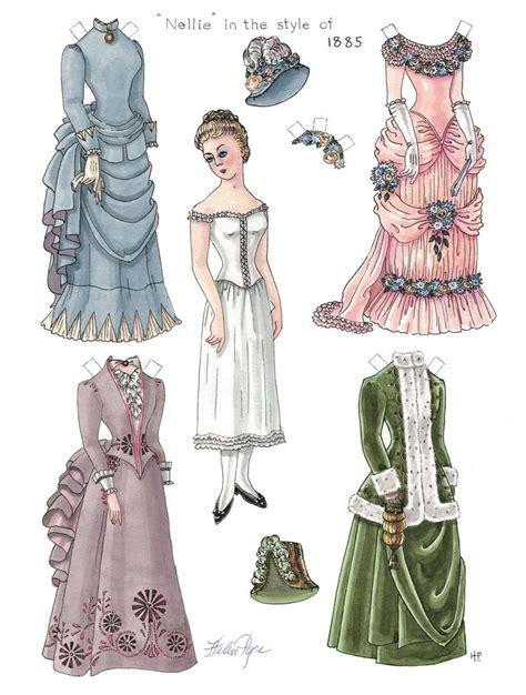 printable victorian paper dolls 66 best paper dolls free printables images on pinterest