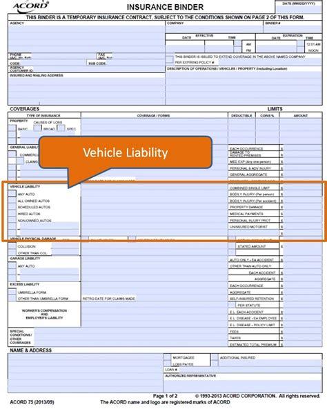 Insurance Binder Letter Auto Insurance Binder Fhb Insurance